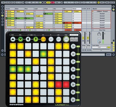 Novation Launchpad for Ableton Live